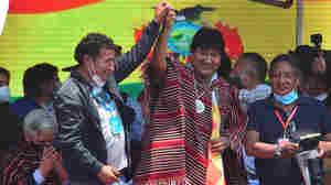 Evo Morales Makes Triumphant Return To Bolivia