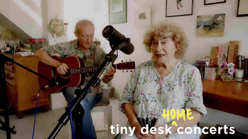 Shirley Collins: Tiny Desk (Home) Concert