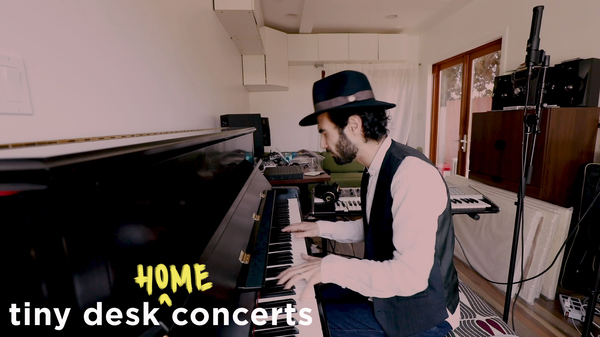 Tigran Hamasyan plays a Tiny Desk (home) concert.