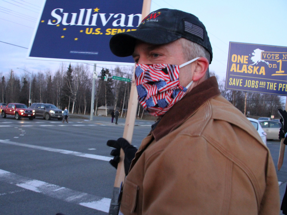 Sen. Dan Sullivan, R-Alaska, won reelection, giving Republicans control of 50 seats in the Senate with two races still outstanding. (Mark Thiessen/AP)
