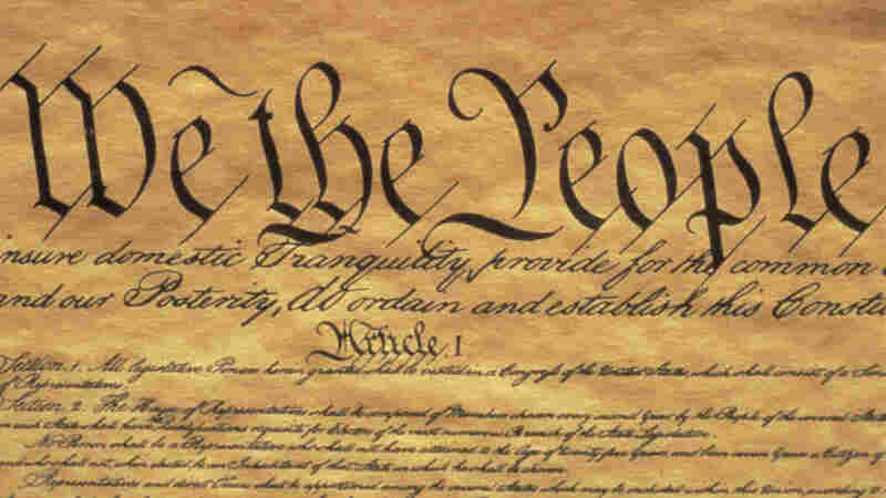 The preamble to the US Constitution.