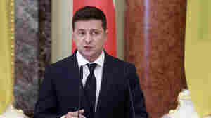Ukraine's President Hospitalized With COVID-19