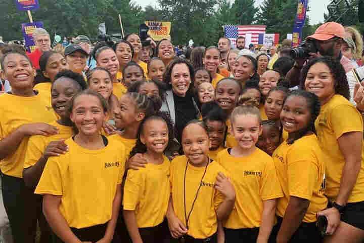 'She'll Look Like A Boss': Vice President-Elect Kamala Harris Inspires Young Girls