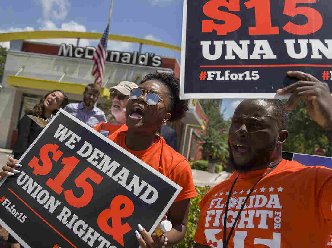 Florida Just Passed A  Minimum Wage. Is The Time Right For A Big Nationwide Hike?