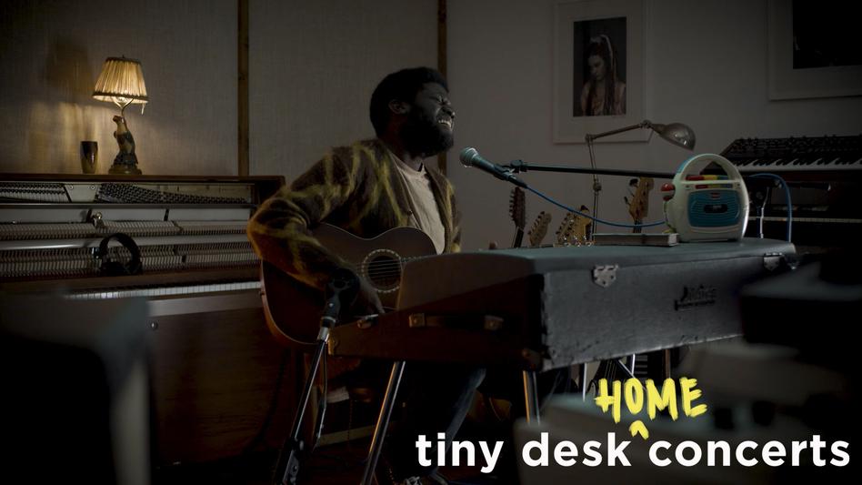 Michael Kiwanuka plays a Tiny Desk (Home) Concert. (NPR)