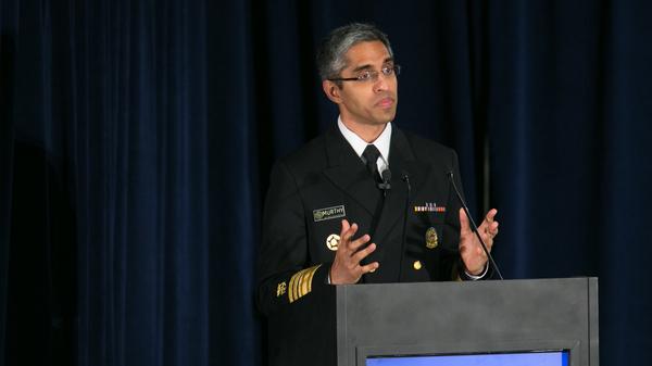 Dr. Vivek Murthy, pictured in 2016, is the co-chair of President-elect Biden's coronavirus advisory board.