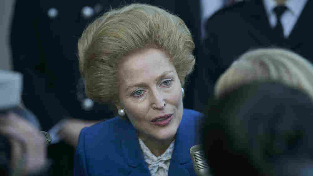 In 'The Crown,' Gillian Anderson Explores Thatcher's 'Powerplay' With The Queen