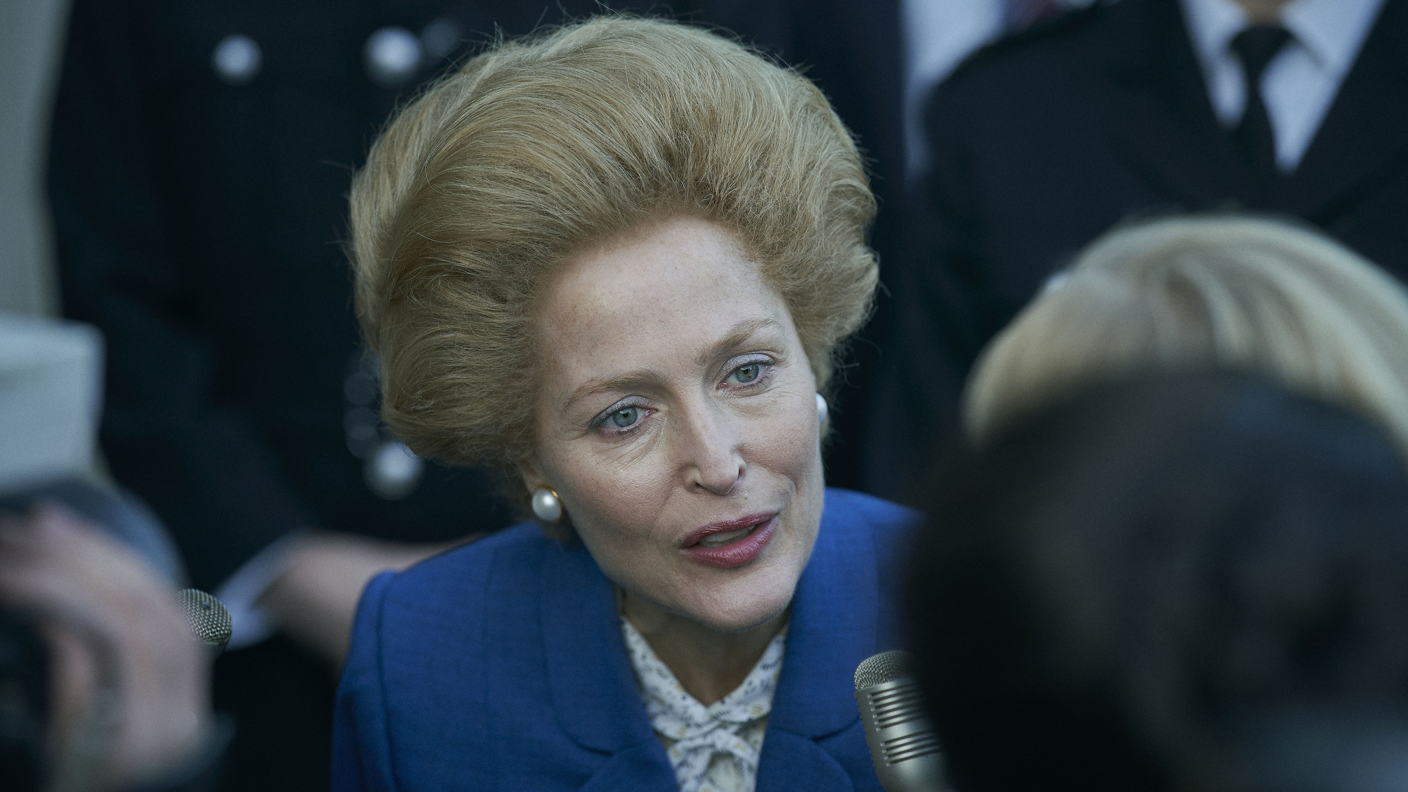 In 'The Crown,' Gillian Anderson Explores Thatcher's 'Powerplay' With The  Queen : NPR