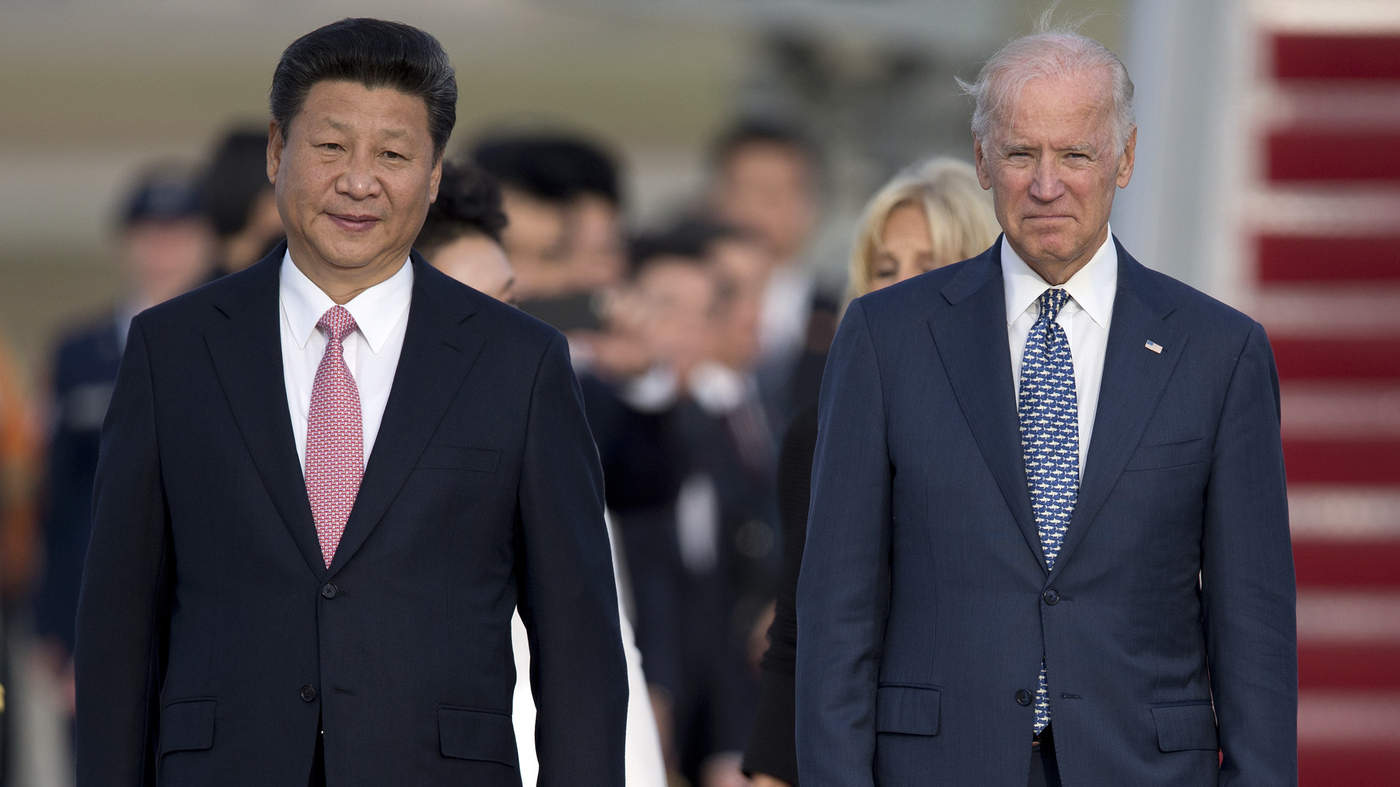 Why Biden Won't Likely Reverse Trump's Trade War Against China – NPR