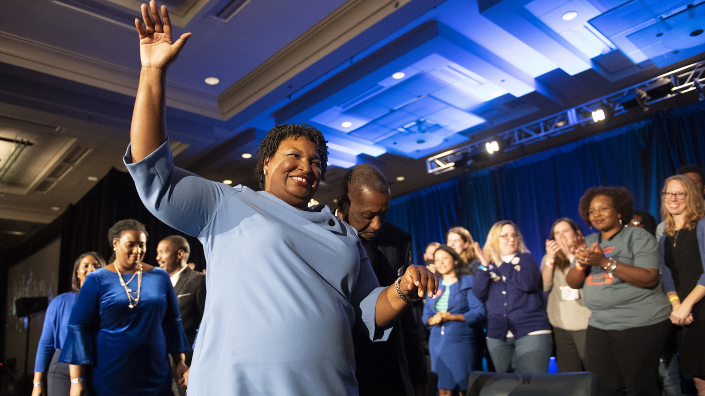 Trump Hasn't Conceded Georgia. Neither Did Stacey Abrams. What Changed? – NPR