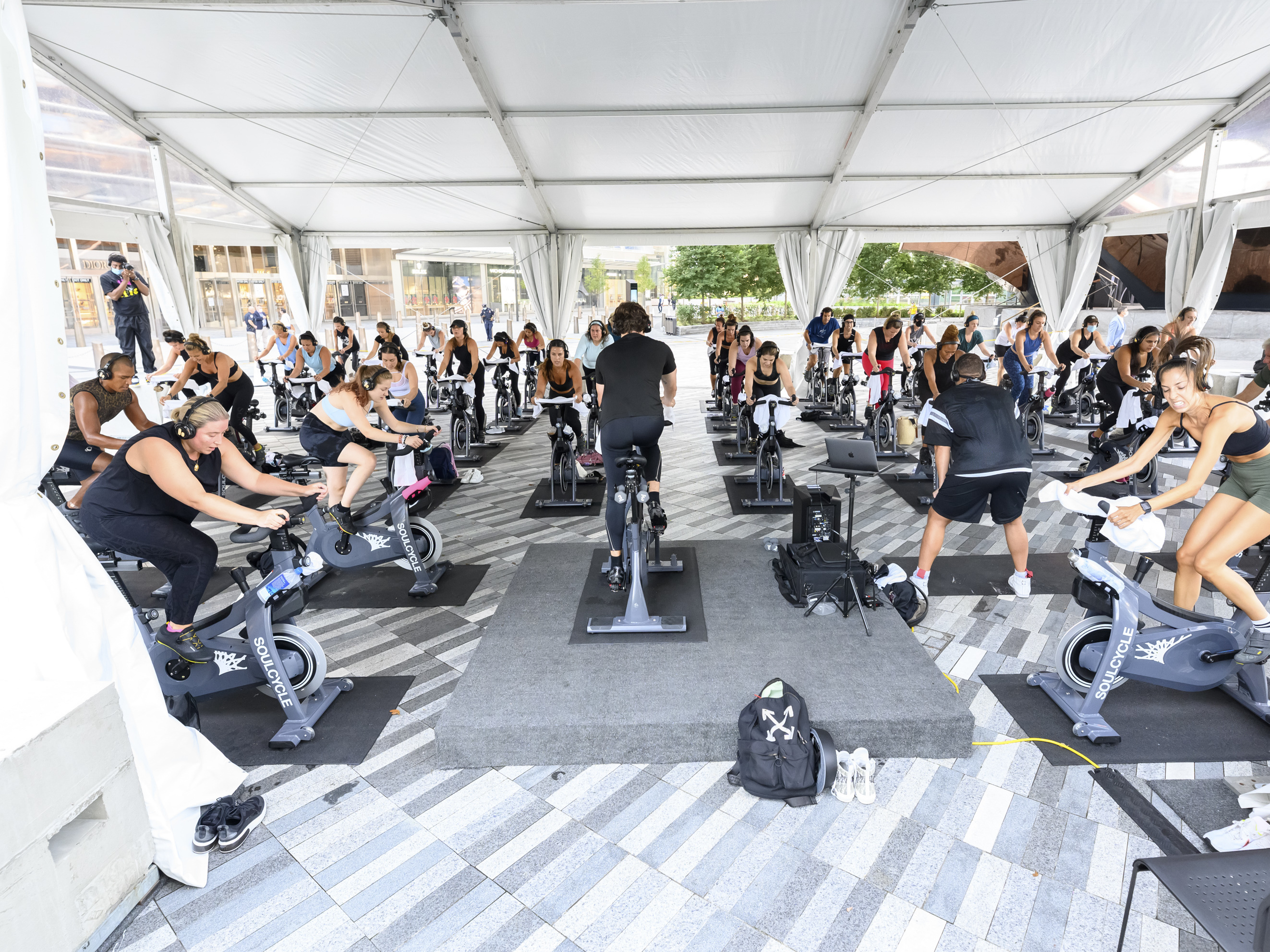 How Safe Is It To Work Out In A Gym Or Play Indoor Sports Goats And Soda Npr