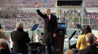 During the transition from President George W. Bush to President Barack Obama, Bush administration officials shared with the incoming Obama administration intelligence about a terrorist threat to disrupt Obama's 2009 inauguration, a threat that ultimately did not come to pass.