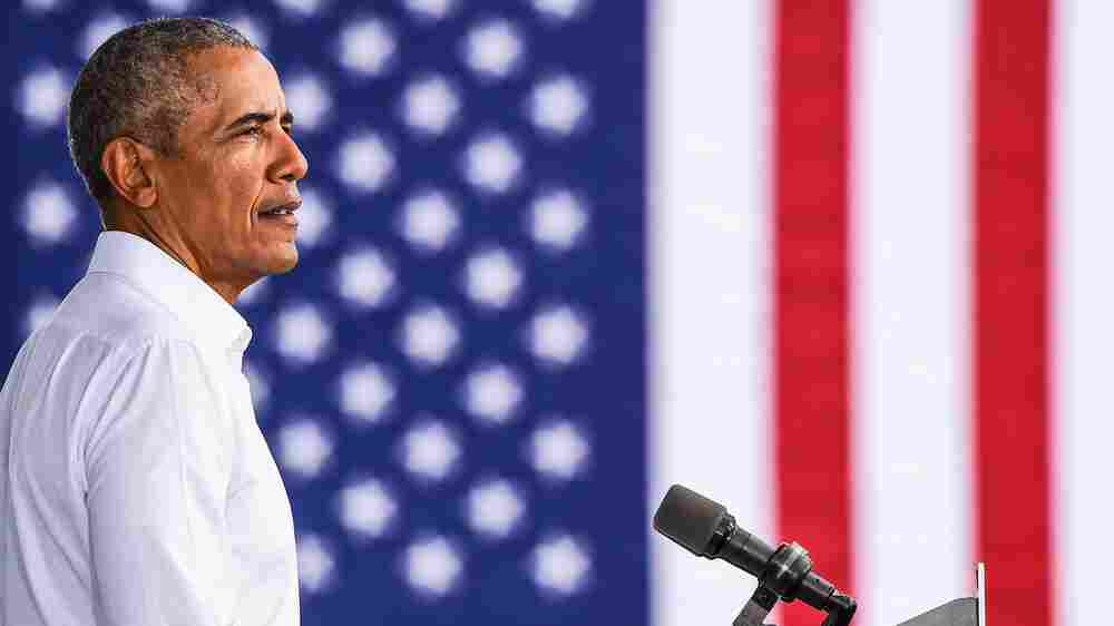Democracy Is 'Strained' But Not 'Broken,' Former President Obama Tells 'Fresh Air'