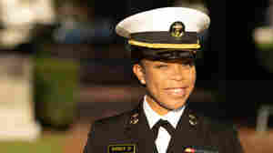 The 1st Black Female Brigade Commander At Naval Academy: 'I Have The Heart To Do It'
