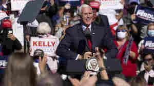 In Georgia, Pence Walks Line Between Trump's Election Falsehoods And GOP Senate Fight