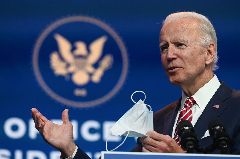 President-elect Joe Biden's 2020 vote total shatters the 2008 record of 69.5 million votes cast for Barack Obama. (Roberto Schmidt/AFP via Getty Images)