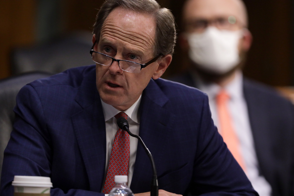 Republican Sen. Pat Toomey of Pennsylvania, seen here during a confirmation hearing in May, urged President Trump to accept the outcome of the presidential election.