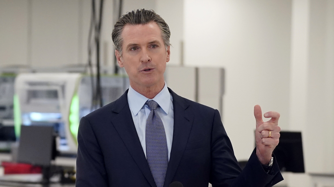 California Gov. Gavin Newsom, Family Quarantining After 3 Kids Exposed To Coronavirus