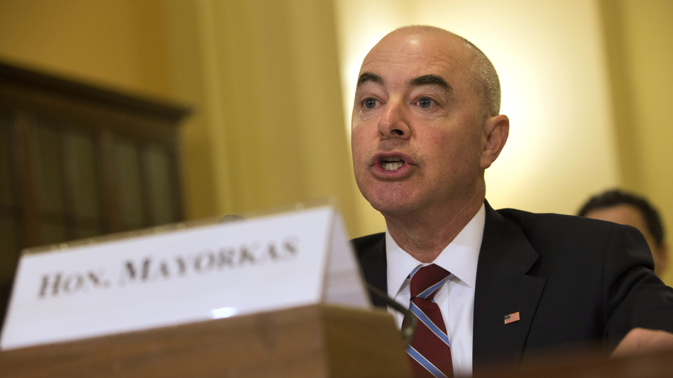 Alejandro Mayorkas testifies before a House committee in 2015. (Jacquelyn Martin/AP)