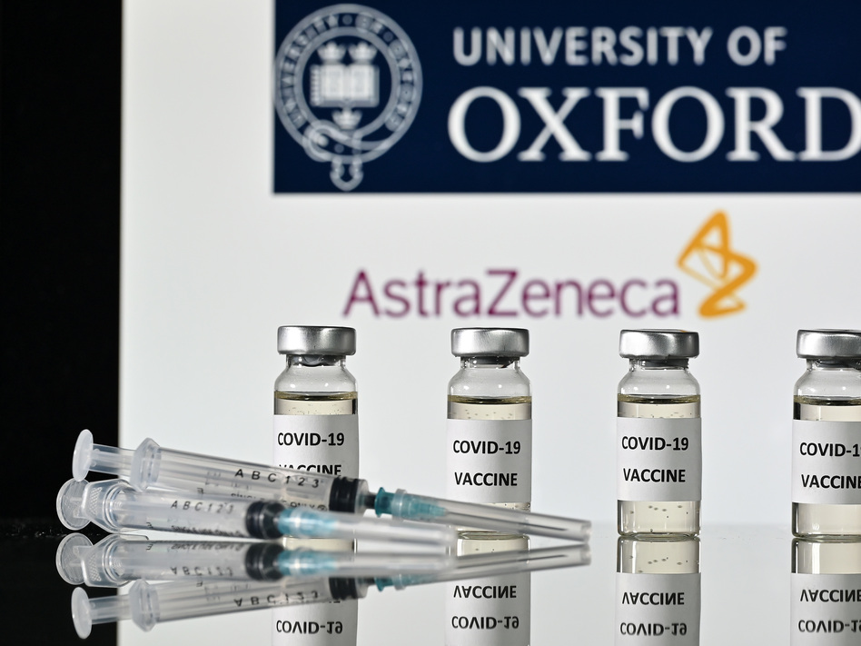 "AstraZeneca, along with Oxford University, announced early Monday its vaccine trial was shown to be ""highly effective"" in preventing COVID-19. (Justin Tallis/AFP via Getty Images)"