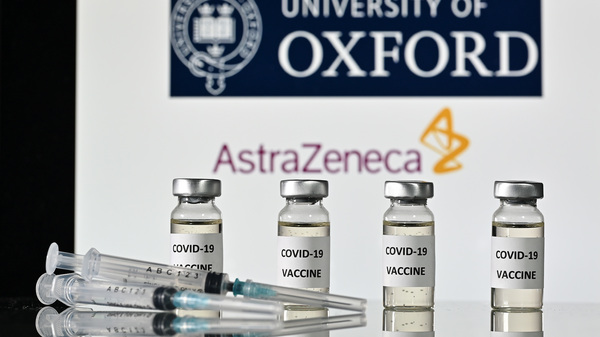 """AstraZeneca, along with Oxford University, announced early Monday its vaccine trial was shown to be """"highly effective"""" in preventing coronavirus infections."""