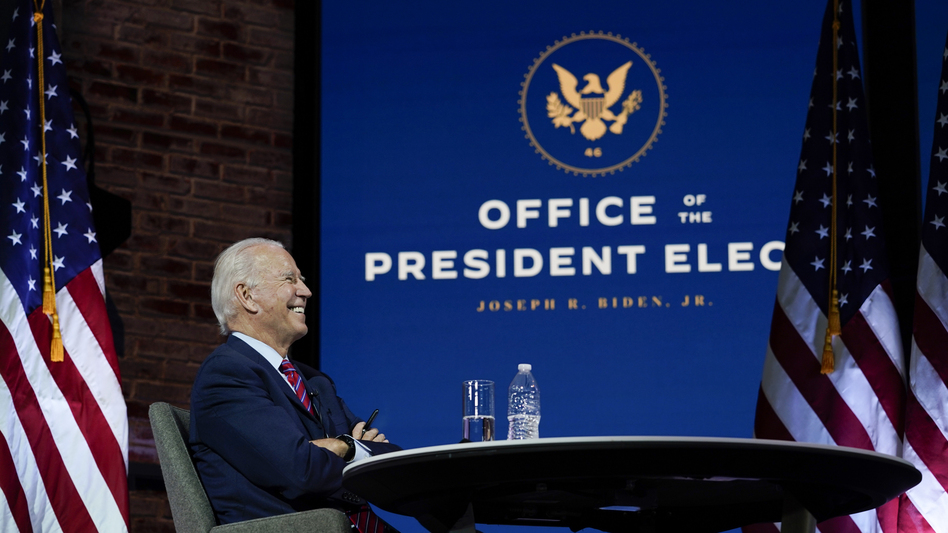 President-elect Joe Biden's transition team can now formally access agencies, federal office space and funds. (Carolyn Kaster/AP)