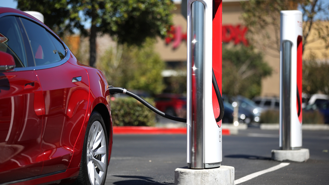 How Long Does It Take To Charge An Electric Car? - NPR