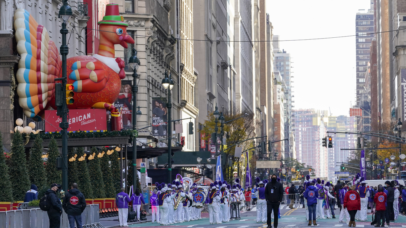Yes The Macy's Parade Is Still Happening This Year — But It'll Be A Bit Different – NPR