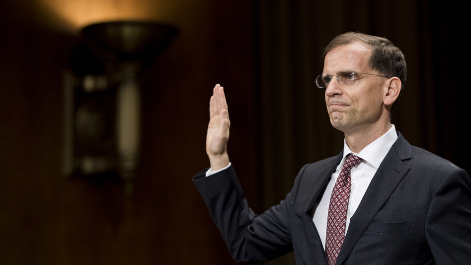 D.C. Circuit Judge Gregory Katsas joined another Trump-appointed federal judge in voting to dismiss a Washington, D.C.-based lawsuit over President Trump's efforts to omit unauthorized immigrants from the census numbers that set up the next Electoral College map. (Bill Clark/CQ Roll Call via Getty Images)