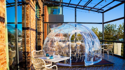 Some Restaurants Hope To Survive The Winter With Plastic Bubbles. How Safe Are They?