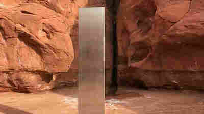 Metallic Monolith In Utah Vanishes Just As Mysteriously As It Appeared