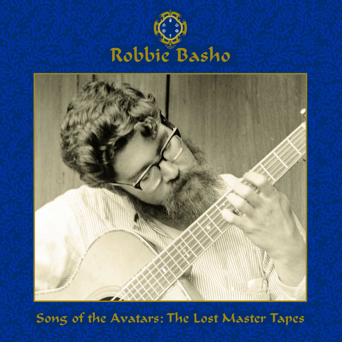 The cover of the new Robbie Basho boxed set Song of the Avatars.