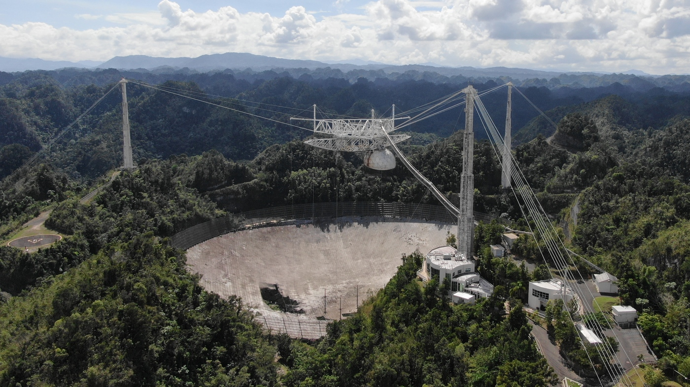 Arecibo Observatory Telescope Collapses Ending An Era Of World-Class Research – NPR