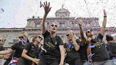 U.S. Women's Soccer Team Settles Part Of Gender Discrimination Suit