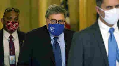 Barr: DOJ Has No Evidence Of Fraud Affecting 2020 Election Outcome