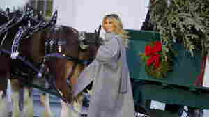 Melania Trump's 2020 Christmas Decorations Are Unconventionally Traditional