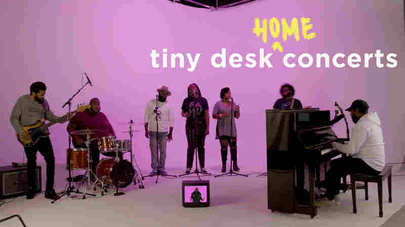 PJ Morton: Tiny Desk (Home) Concert