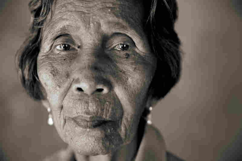 Lydia Alonzo Sanchez was 14 when she was sexually assaulted by Japanese soldiers on Nov. 23, 1944, during a mass rape.