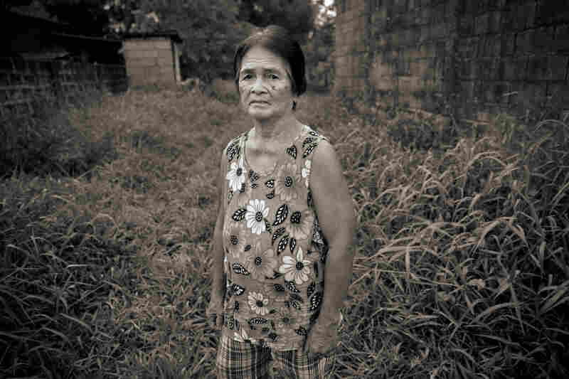 Francia Aga Buco was one of the more than 100 girls and women who were marched to the Red House in Pampanga province and raped by Japanese soldiers. She was then 14.