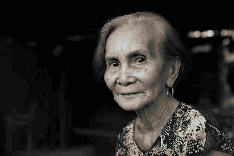 Januaria Galang Garcia is frail and suffers from dementia. On Nov. 23, 1944, she and her mother were among the more than 100 girls and women raped by Japanese soldiers. Garcia was 14. She would later marry and have eight children.