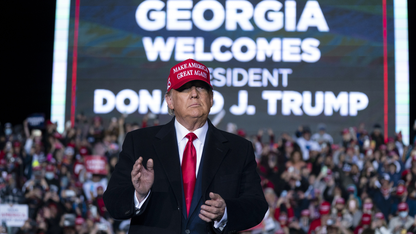 Trump To Rally In Georgia While Hinting At A 2024 Run – NPR