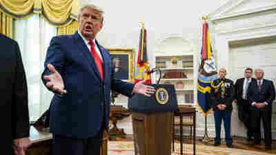 Trump Attacks Barr, Accuses DOJ Of Not Examining Debunked Voter Fraud Claims