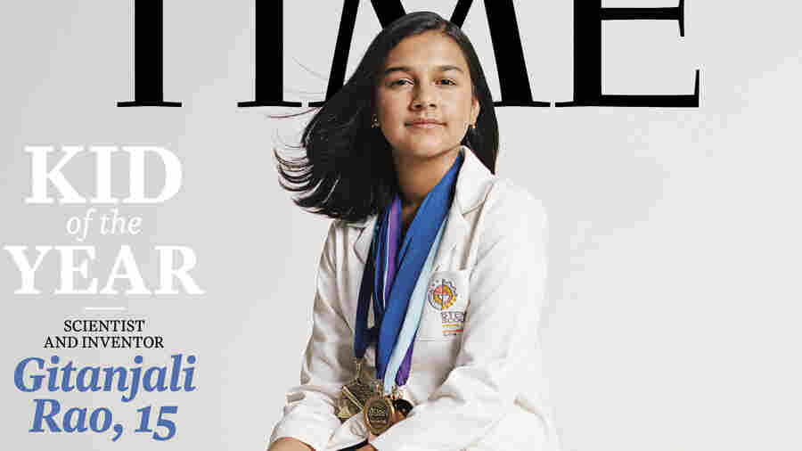 'Time' Names Its Kid Of The Year: Water-Testing Scientist Gitanjali Rao