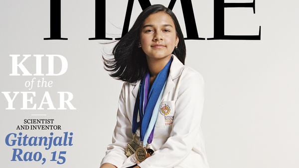 Gitanjali Rao, 15, is Time magazine