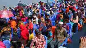 Bangladesh Begins Moving Displaced Rohingya Muslims To Island