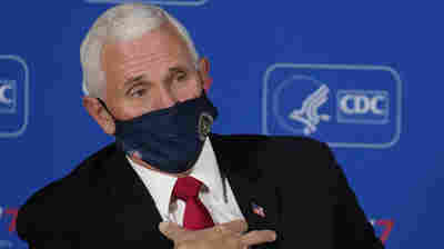 Pence Says It's A 'Season Of Hope,' While CDC Officials Warn Of COVID-19 Surge