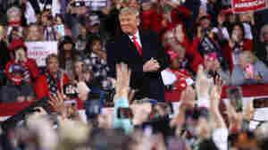 Trump Continues Attacks On Election Results At Georgia Senate Runoff Rally
