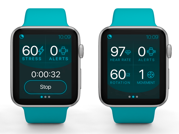 The app works with an Apple Watch to treat PTSD-related nightmare disorders.