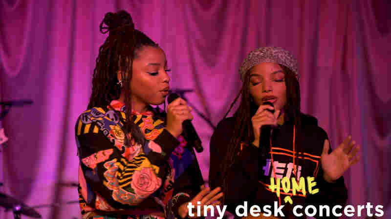 Chloe x Halle: Tiny Desk (Home) Concert