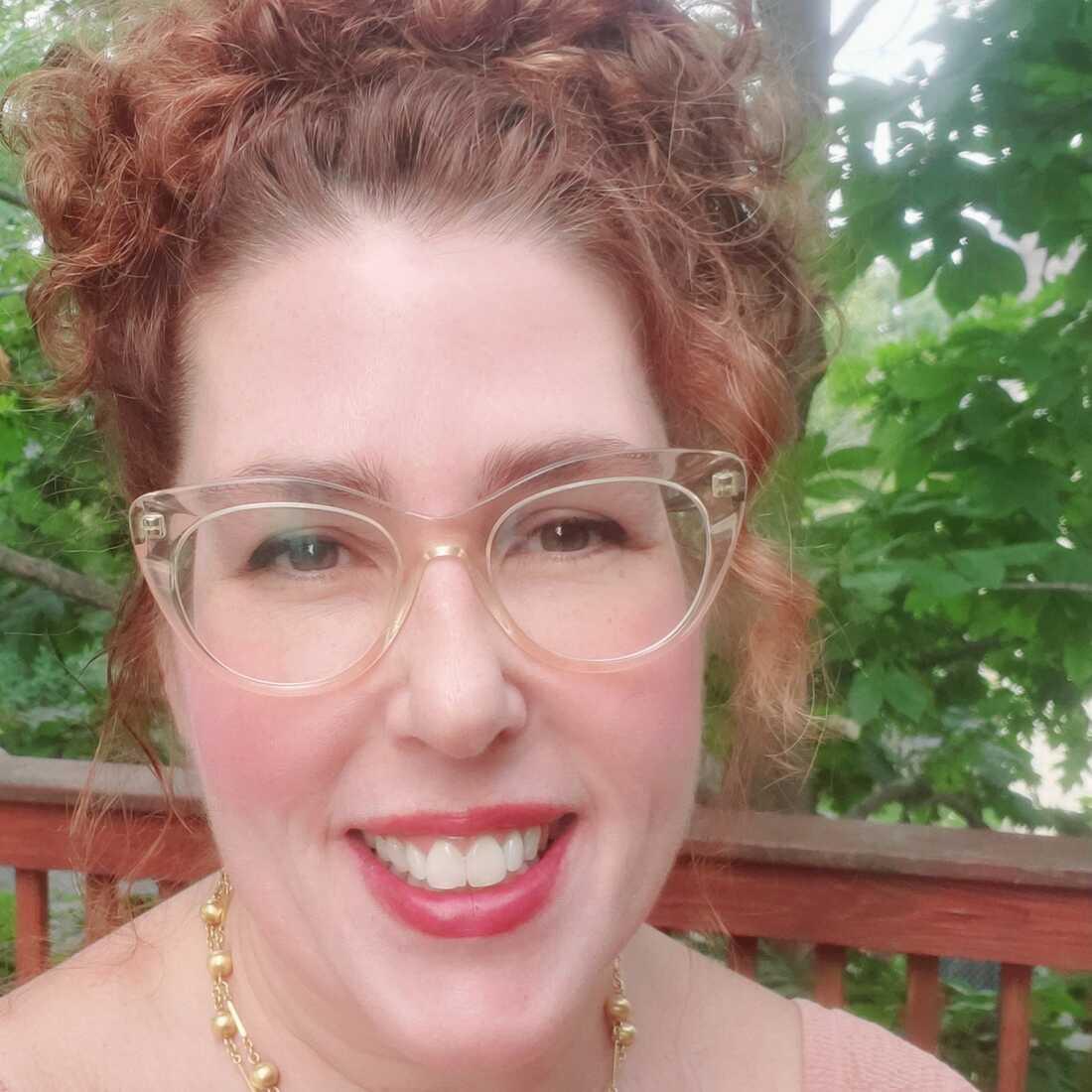 """Erica Landis wrote """"We Became Jewish Again."""""""